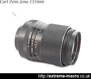 Carl Zeiss Jena 135mm