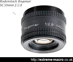 rogonar, no good for extreme macro