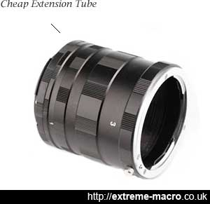 cheap extension tube